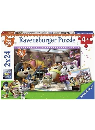 Ravensburger 2x24 Puzzle Buffycats RPK050123 Renkli